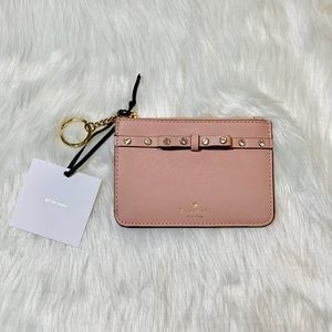 Kate Spade Bitsy Laurel Way Jeweled Bow Wallet